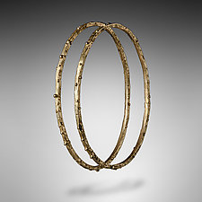 Stacking Bangle by Lori Kaplan (Gold Bracelet)