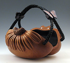 Daisy by Kimberly Chalos (Wood Purse)