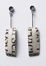 Bold Rectangular Earrings by Eliana Arenas (Jewelry Earrings)