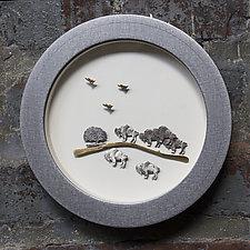 XS Imagine Series: Buffalo by Stacey Lee  Webber (Metal Wall Sculpture)