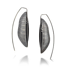 Bateaux Earrings by Sarah Chapman (Silver Earrings)