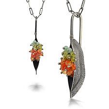 Bateaux Pendant by Sarah Chapman (Silver & Stone Necklace)