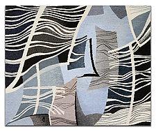 Reflection by Rita Gekht (Fiber Wall Hanging)