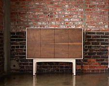 Taper Sideboard by Daniel Rickey (Wood Sideboard)