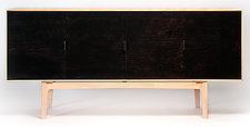 Taper Credenza by Daniel Rickey (Wood Sideboard)