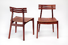 Ladder Back Chair by Daniel Rickey (Wood Chair)