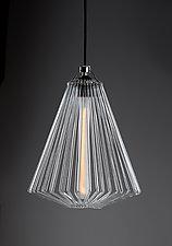 Trigby Loop Pendant by Michael Curran  Hall (Art Glass Pendant Lamp)