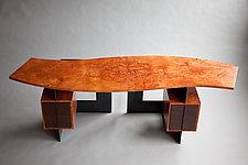 Cinnamon Desk by Adam Bentz (Wood Desk)