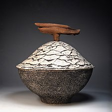 Ash Pot 1 by Eric Pilhofer (Ceramic Sculpture)