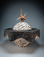 Resting Ashes Urn by Eric Pilhofer (Ceramic Sculpture)