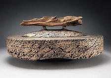 Origin Ashes Urn by Eric Pilhofer (Ceramic Sculpture)