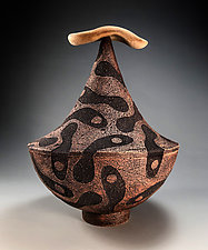 Lake Ashes Urn by Eric Pilhofer (Ceramic Sculpture)