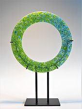 Equator by Lisa Becker (Art Glass Sculpture)