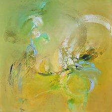 Summers Flight by Anne B Schwartz (Oil Painting)