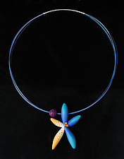 Pacific Star Necklace by Jeffrey Lloyd Dever (Polymer Clay Necklace)