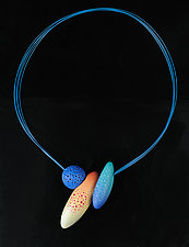 Summer in Ubersee Necklace by Jeffrey Lloyd Dever (Polymer Clay Necklace)