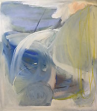 Siasconset by Katie Re Scheidt (Mixed-Media Painting)