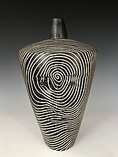 Small Hat by Larry Halvorsen (Ceramic Vessel)