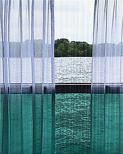 Rhone River by Marilyn Henrion (Fiber Wall Hanging)