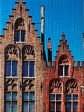 Bruges III by Marilyn Henrion (Fiber Wall Hanging)