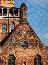 Bruges IV by Marilyn Henrion (Fiber Wall Hanging)