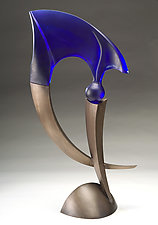 Punctuate No.2 by Brian Russell (Art Glass Sculpture)
