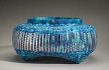 Ocean Parallax by Jackie Abrams (Fiber Basket)