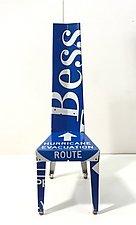 Transit Chair by Boris Bally (Metal Chair)