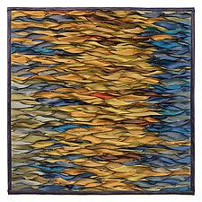 Shining Water V by Tim Harding (Fiber Wall Hanging)