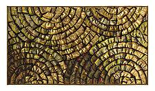Gold Medallion by Tim Harding (Fiber Wall Hanging)