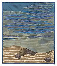 On the Rocks by Tim Harding (Fiber Wall Hanging)