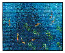 Koi Shimmer VIII by Tim Harding (Fiber Wall Hanging)