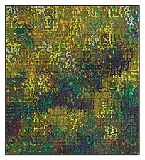 Sylvan Grid by Tim Harding (Fiber Wall Hanging)