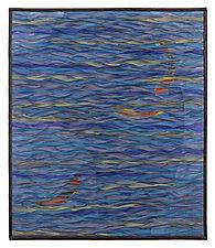 Koi Pool by Tim Harding (Fiber Wall Hanging)