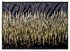 Moonlit Marsh by Tim Harding (Fiber Wall Hanging)