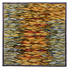 Shining Water III by Tim Harding (Fiber Wall Hanging)