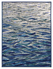 Frozen River by Tim Harding (Fiber Wall Hanging)
