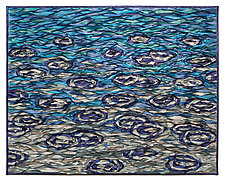 Raindrops II by Tim Harding (Fiber Wall Hanging)