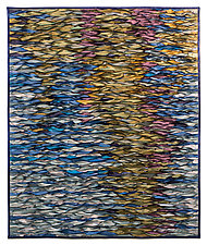 Reflecting Sea 5 by Tim Harding (Fiber Wall Hanging)