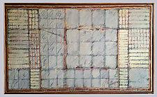 Rostam Fait Sortir de Sa Prison by Gerald Siciliano (Mixed-Media Painting)