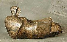 Reclining 72 by Gerald Siciliano (Bronze Sculpture)