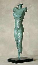Standing Study by Gerald Siciliano (Bronze Sculpture)