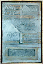 Colophon of Khamsheh by Gerald Siciliano (Mixed-Media Painting)