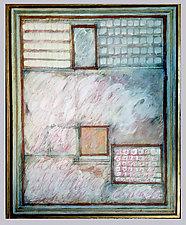 Dans La Pavilion (Overlays of Balbator) by Gerald Siciliano (Mixed-Media Painting)