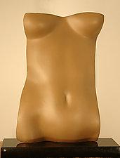 Torsolino: Satin Finish by Gerald Siciliano (Bronze Sculpture)