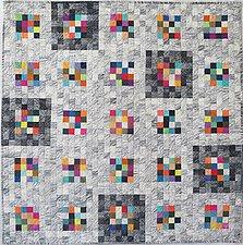 Earth Quilt 101: Lines XVII by Meiny Vermaas-van der Heide (Fiber Wall Hanging)