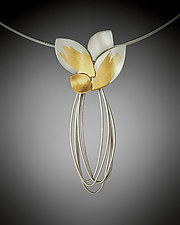 Vera Necklace by Judith Neugebauer (Gold & Silver Necklace)