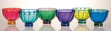Urchin Bowls by Robert Dane (Art Glass Bowl)