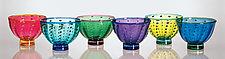Urchin Bowls by Robert Dane (Art Glass Bowl)