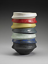 Stacking Bowls by Kaete Brittin Shaw (Ceramic Bowl)